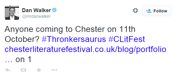 #Clitfest - the funniest hashtag